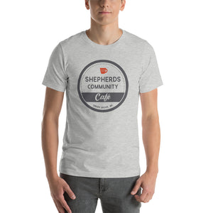 Shepherds Community Cafe Short-Sleeve Unisex T-Shirt - Heather Grey