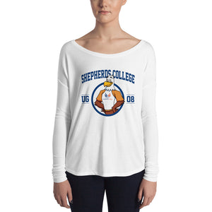 "Shepherds College ""Sherman"" Ladies' Long Sleeve Tee"