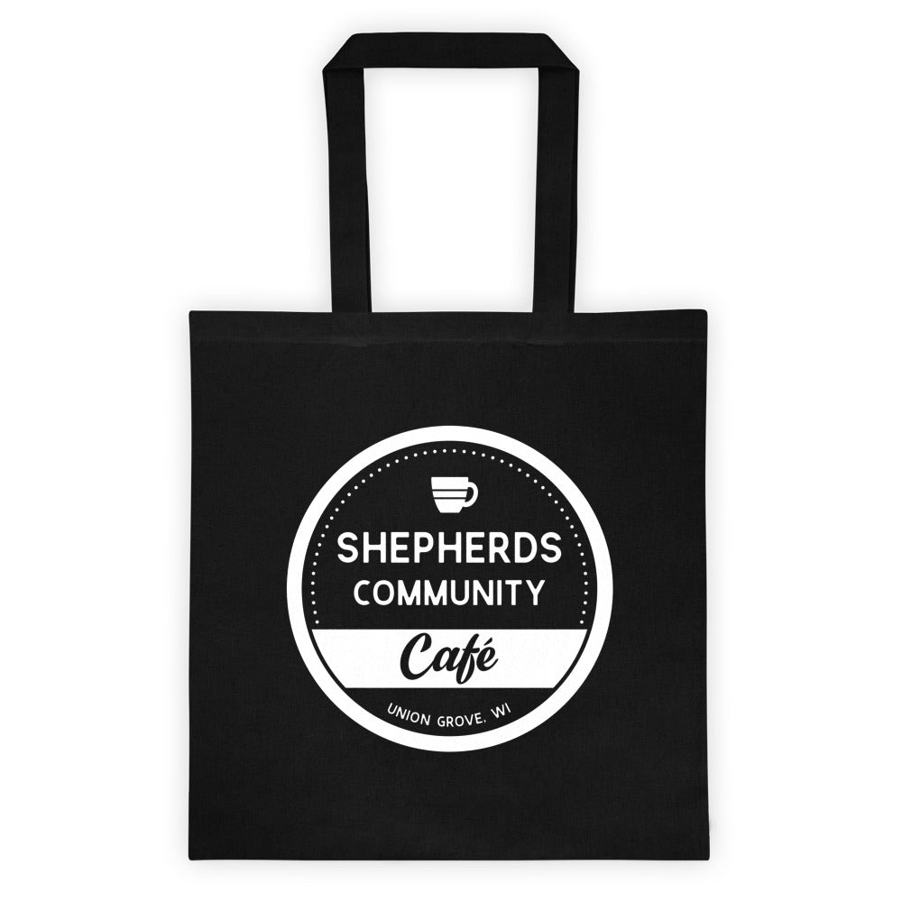 Shepherds Community Cafe Cotton Canvas Tote Bag