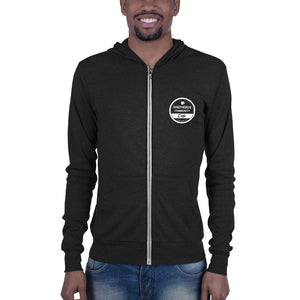 Shepherds Community Cafe Unisex Full-Zip Lightweight Hoodie