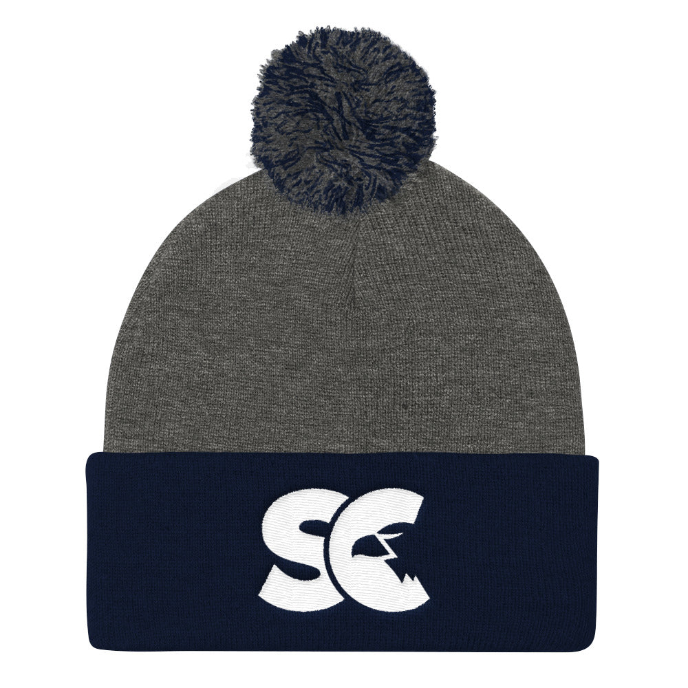 Shepherds College Pom Pom Knit Cap
