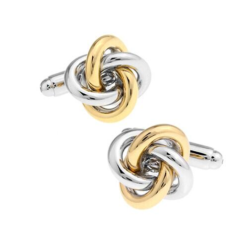 Fashion Knot Design Cufflinks - Select Style 16