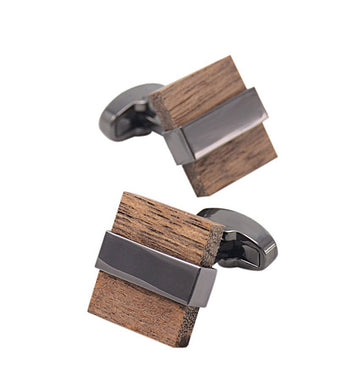 Luxury Wood Cufflinks