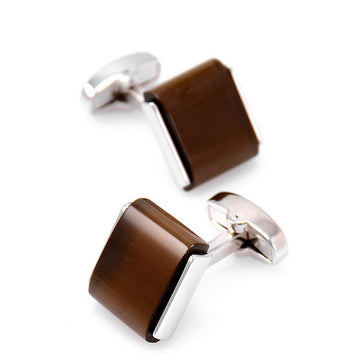 Brown Opal Cufflinks
