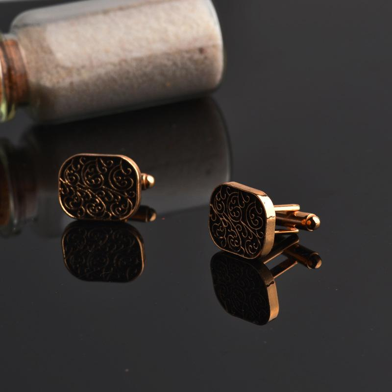 Gold Scroll Cufflinks