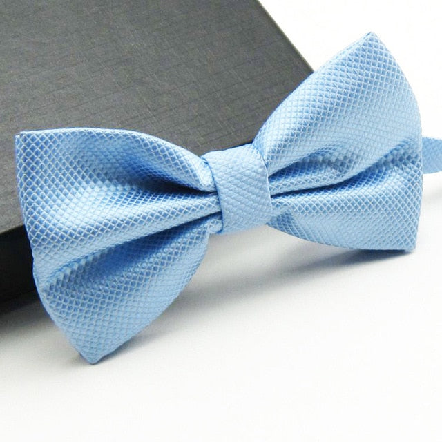 Formal Wear Solid Bow Ties
