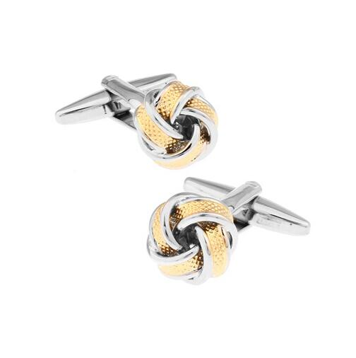 Fashion Knot Design Cufflinks - Select Style 18