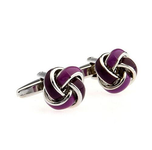 Fashion Knot Design Cufflinks - Select Style 13