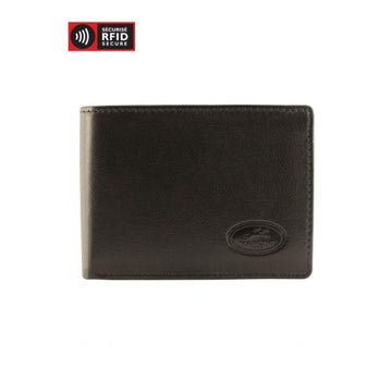 RFID Secure Men's I.D. Card Wallet