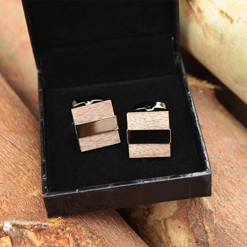 Wenge Wood Cufflinks
