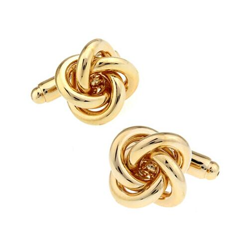 Fashion Knot Design Cufflinks - Select Style 10