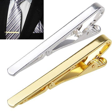 Sleek Metal Tie Bar - Select Style