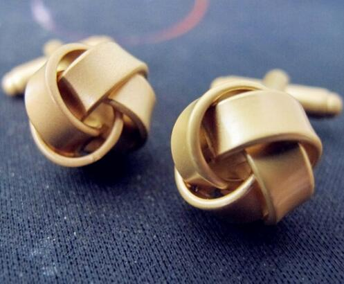 Fashion Knot Design Cufflinks - Select Style