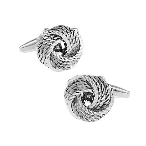 Fashion Knot Design Cufflinks - Select Style 8