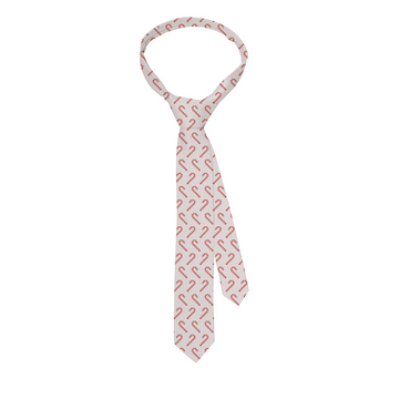 Candy Cane White Tie