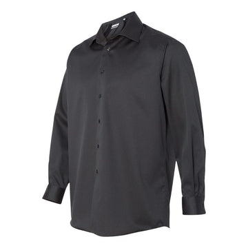 Calvin Klein - Non-Iron Micro Pincord Long Sleeve Shirt (Carbon)