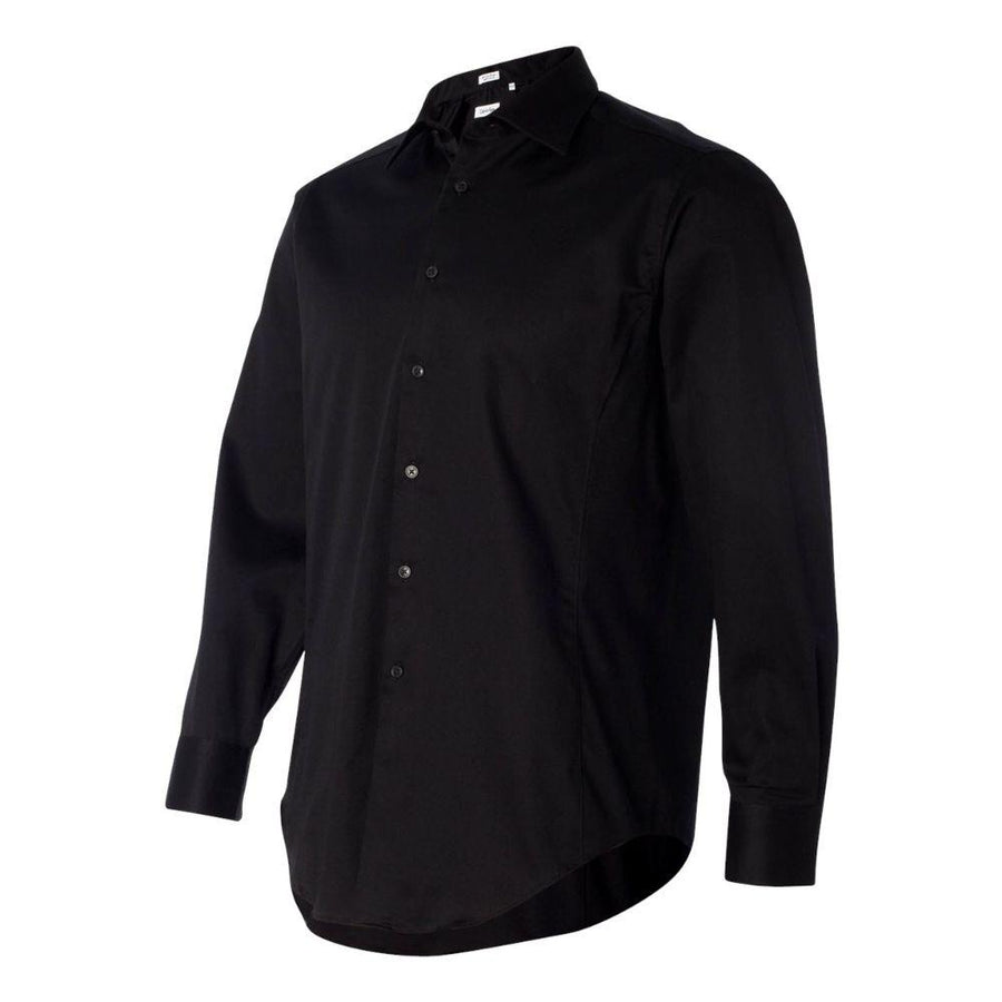 Calvin Klein - Slim Fit Cotton Stretch Shirt (Black)