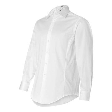 Calvin Klein - Slim Fit Cotton Stretch Shirt (White)