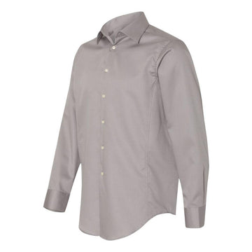 Calvin Klein - Slim Fit Non-Iron Dobby Pindot Shirt (Ice Grey)