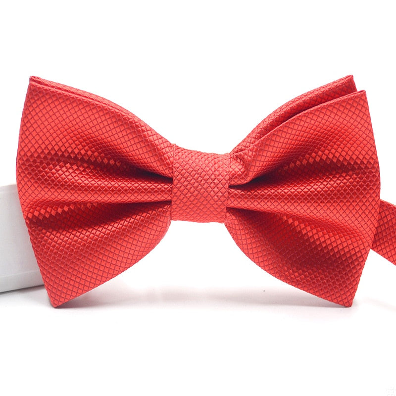 Formal Wear Solid Bow Ties a14 Sky Blue