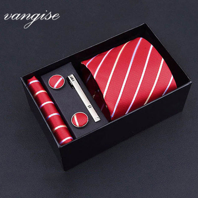 Tie Set with Cufflinks and Tie Bar - Select Style A8039