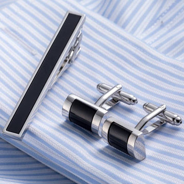 Vagula Tie Bar and Cufflinks Set
