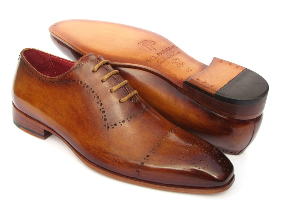 Paul Parkman Light Brown Classic Brogues EU 38 - US 6