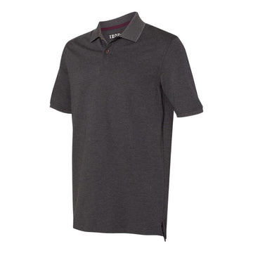 IZOD - Advantage Performance Sport Shirt (Carbon Heather)