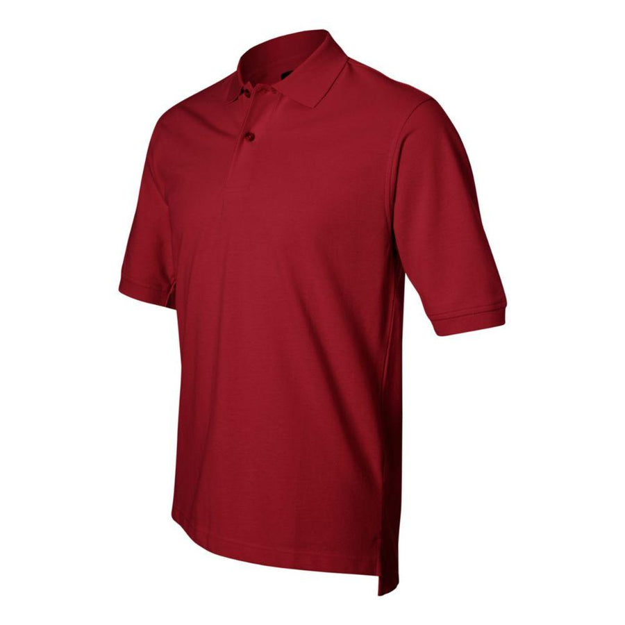 IZOD - Silkwash Classic Pique Sport Shirt (Real Red)