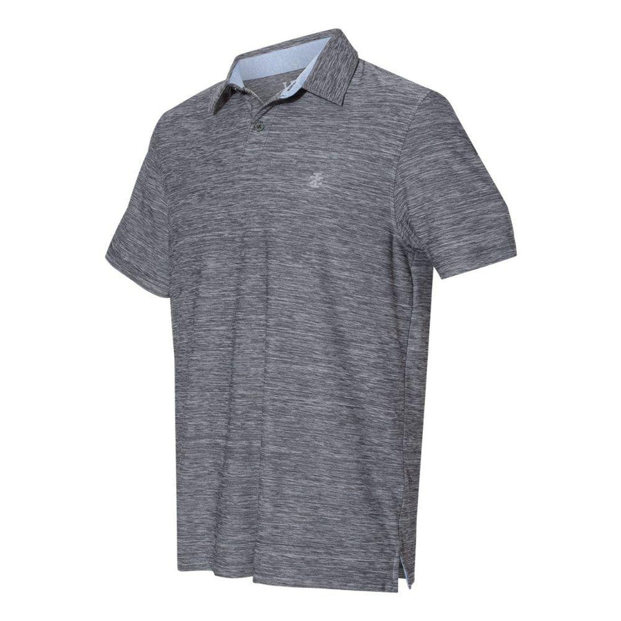 IZOD - Space-Dyed Sport Shirt (Asphalt to White)