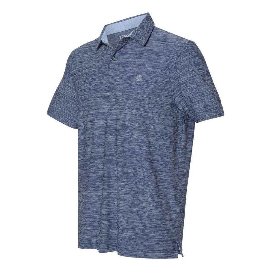 IZOD - Space-Dyed Sport Shirt (Club Blue to White)
