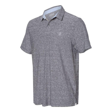 IZOD - Space-Dyed Sport Shirt (Light Grey to White)