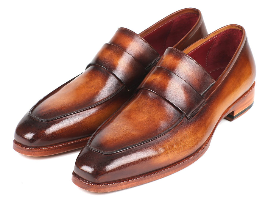 Paul Parkman Men's Loafers Brown EU 40 - US 7.5