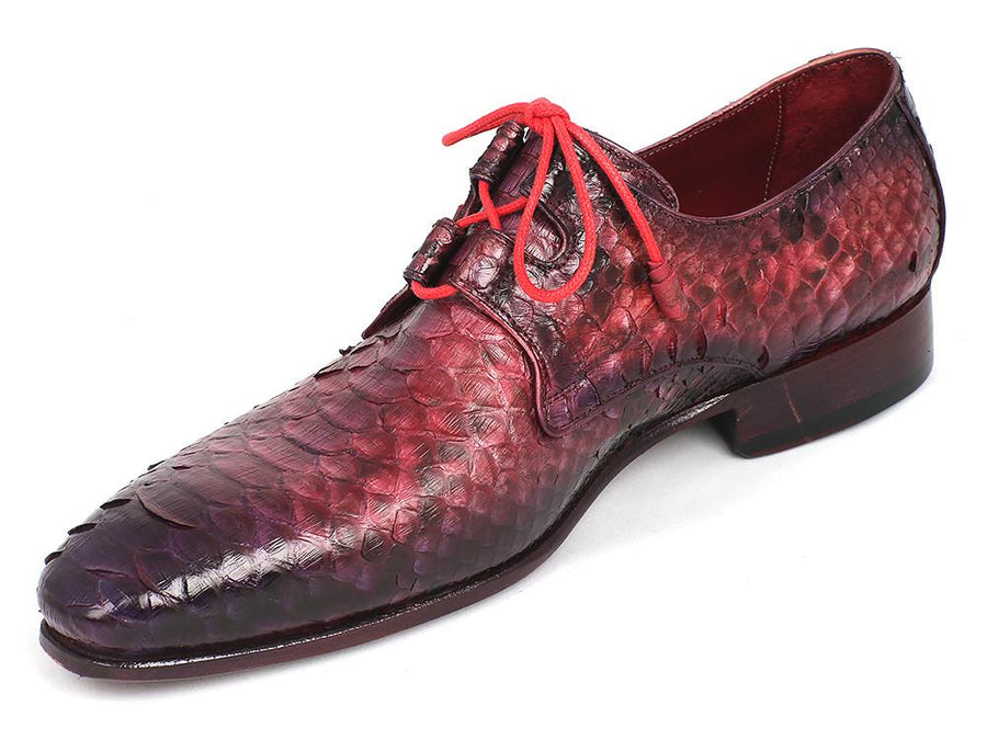 Paul Parkman Lila Genuine Python Ghillie Lacing Dress Shoes EU 43 - US 9.5 / 10