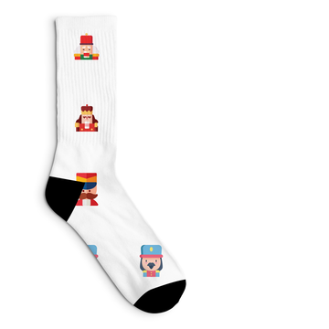 Nutcracker Socks Sublimated Crew Sock