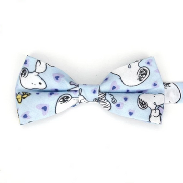 Snoopy Blue Bow Tie