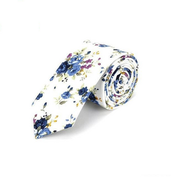 Kempston White Skinny Tie