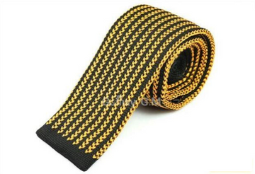 Skipton Yellow Knit Tie
