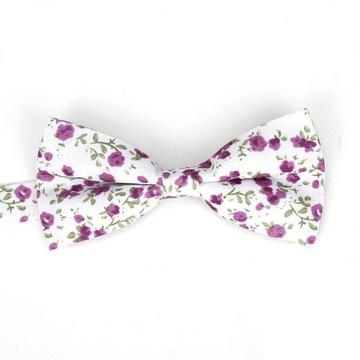 Beverly White Bow Tie