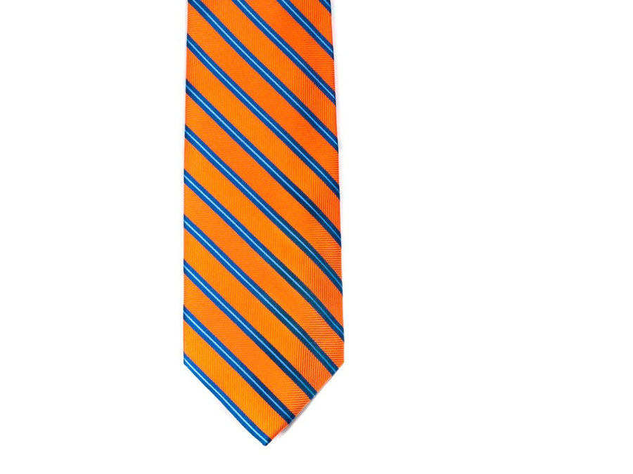 Carrot Top Striped Necktie