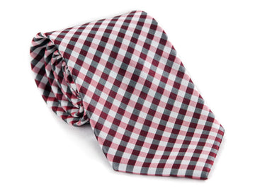 Checkers Plaid Necktie