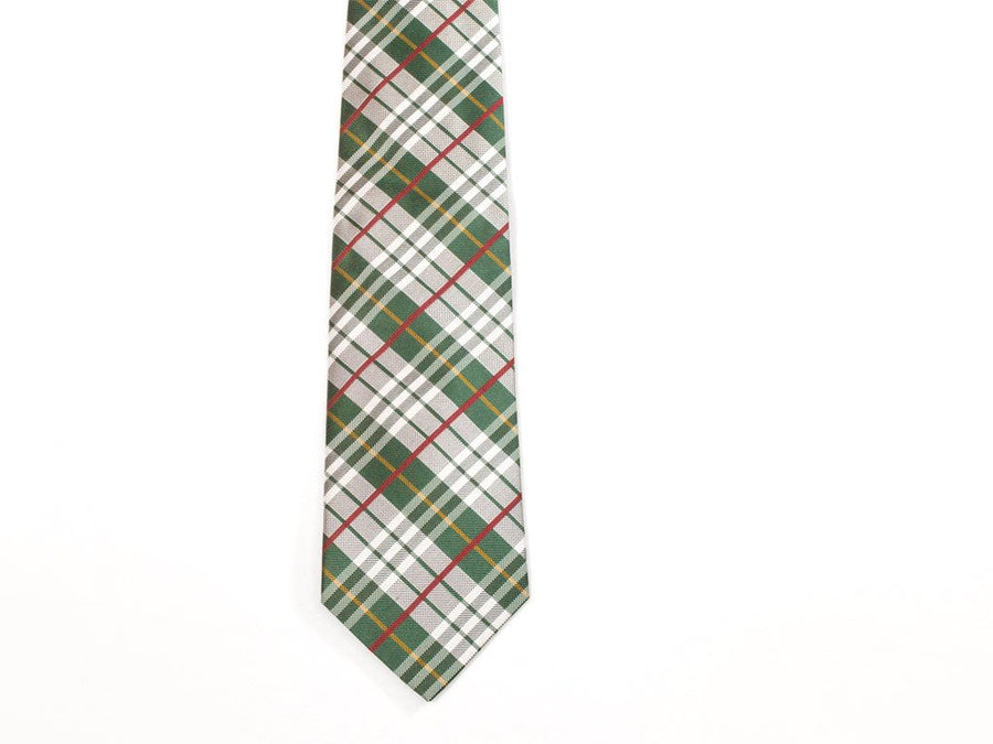 The Connery Plaid Necktie