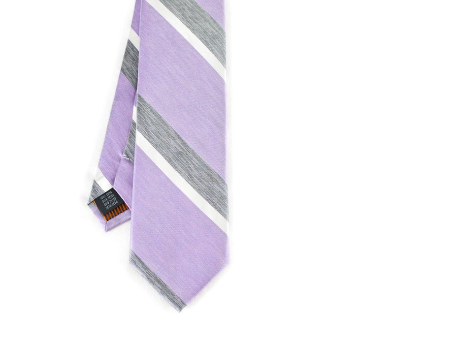 Crewcut Striped Necktie