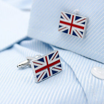 The Union Jack Cufflinks The Union Jack Cufflinks