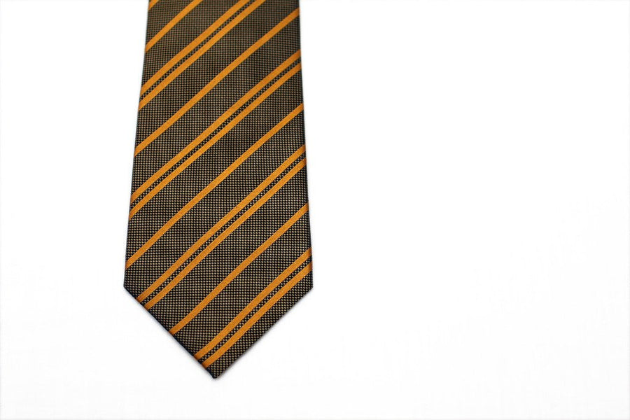 Dirty German Striped Necktie