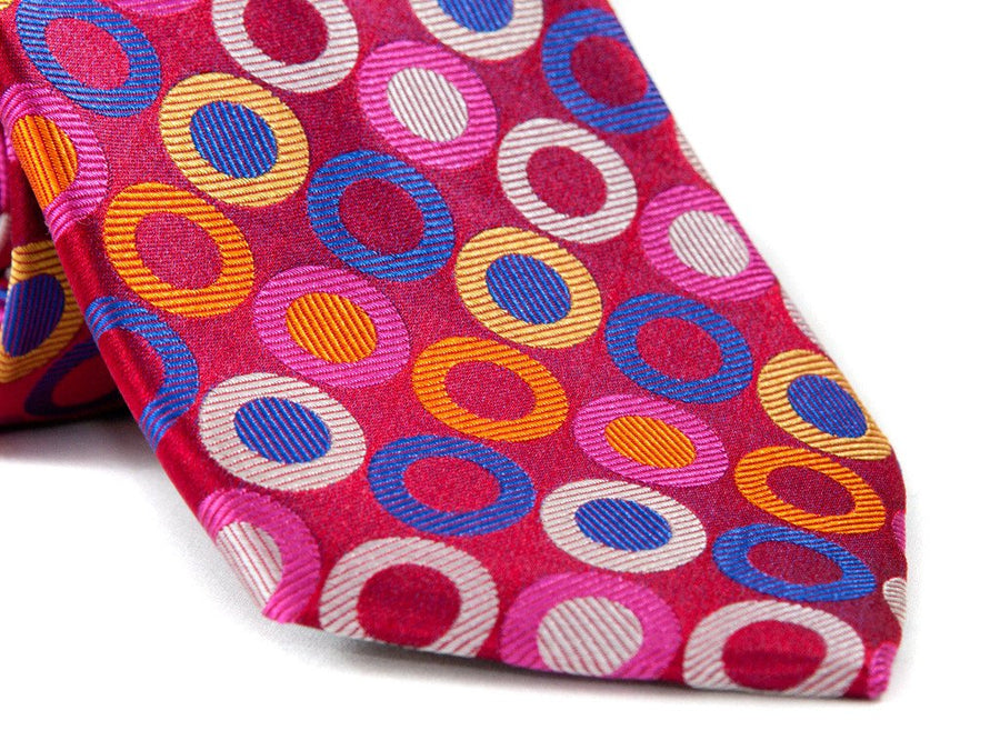 Fruit Loops Circle Necktie