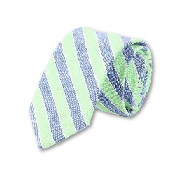 Downtown Berlin Striped Necktie