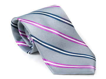 Grey Goose Striped Necktie