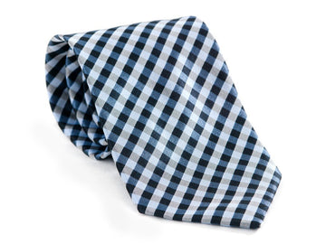 Lewinski Checkered Plaid Necktie