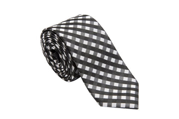 Panther Plaid Necktie
